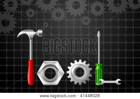 Tool word formed by Hammer and screwdriver