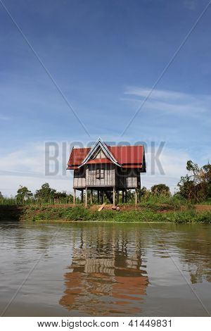 Attic on mekong river