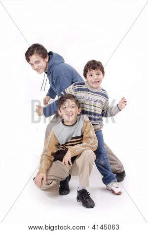 Three Boys And Fashion