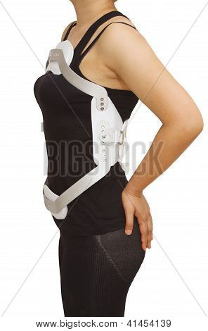 Lumbar Jewet Braces ,hyperextension Brace For Back Truma Or Fracture Thoracic And Lumbar Spine