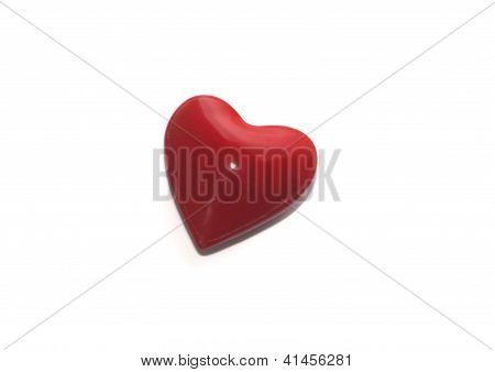 One Red Heard Valentine's Day Present