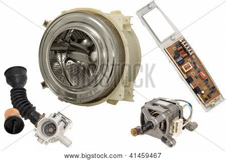 Parts Washing Machine.