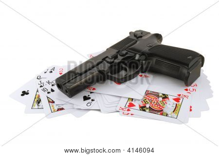 The Weapon On Playing Cards