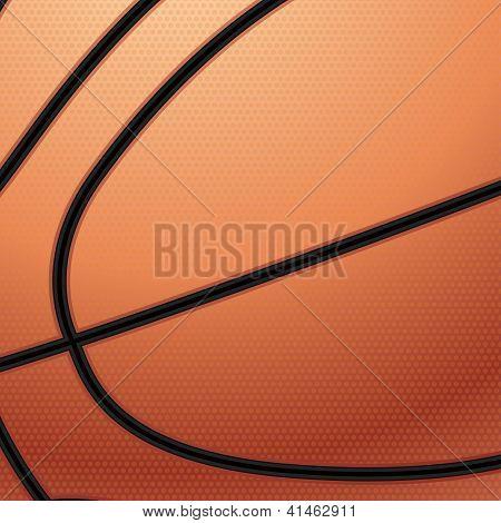 Basketball Macro Background