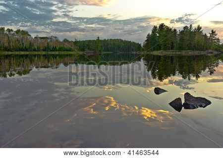 Boundary Waters Reflection.