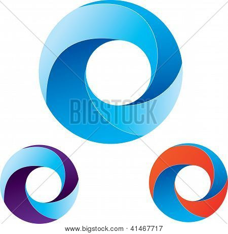 Circles Blue.