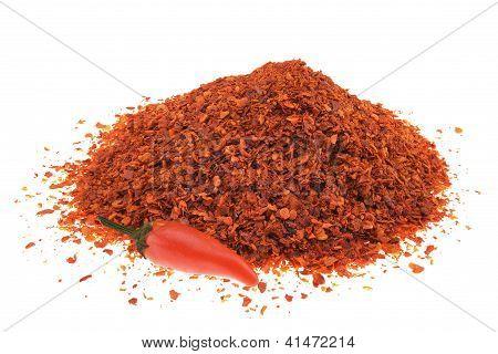 Pile Of Chilli Pepper