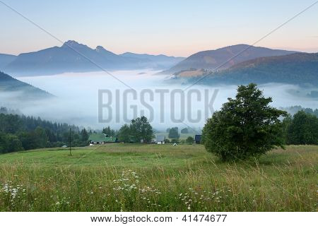 Beautiful Wild Area In Fatra Slovakia