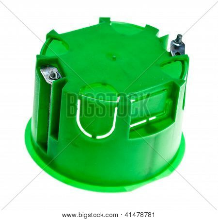 Green Outlet Box