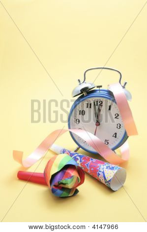 Alarm Clock And Party Favors