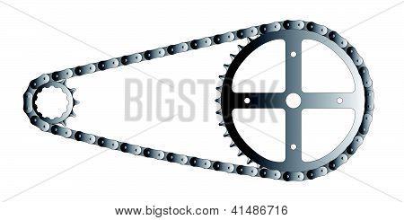 Detalhe de bicicleta