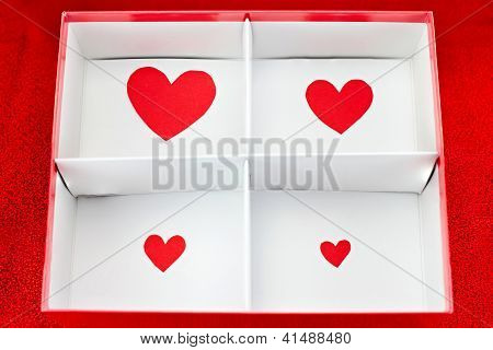 Heart Shape In The Box