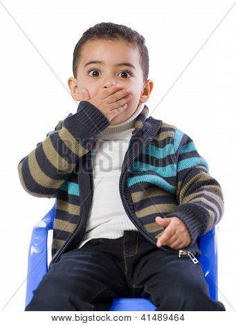 Little Boy Scared