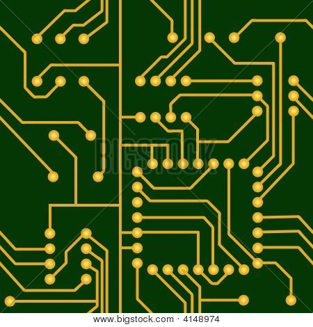 Seamless Electronic Circuit