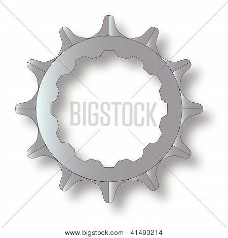 Bicycle Rear Cog