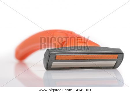 Abstract Disposable Razor