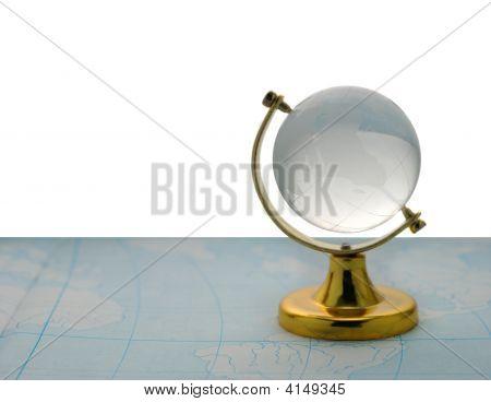 Globe and Karte