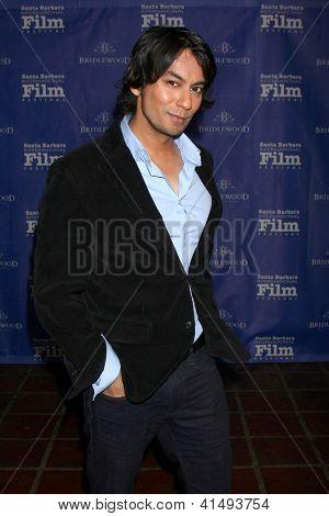 SANTA BARBARA - JAN 26:  Vik Sahay arrives at the Santa Barbara International Film Festival  Montecito Award at Arlington Theater on January 26, 2013 in Santa Barbara, CA