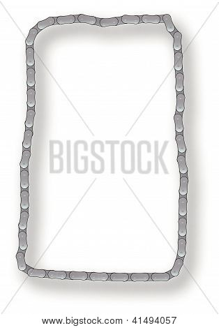 Bicycle Chain Border