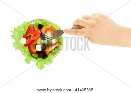 Picture Of Greek Salad