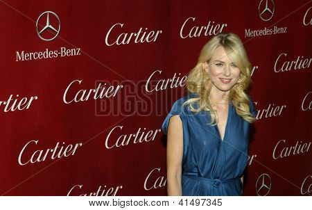 PALM SPRINGS, CA - JAN 5: Naomi Watts arrives at the 2013 Palm Springs International Film Festival's Awards Gala at the Palm Springs Convention Center on January 5, 2013 in Palm Springs, CA.