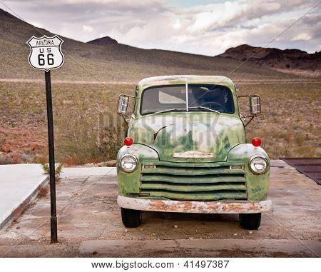Route 66 Truck Portrait