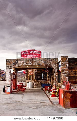 Storm Clouds Over Route 66
