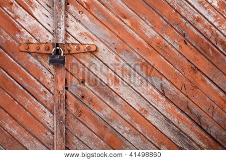 Old Grunge Door Lock