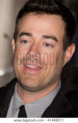 Carson Daly at the Hollywood Walk of Fame Ceremony