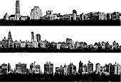 Постер, плакат: Панорама города