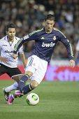VALENCIA - JANUARY 23: Ronaldo during Spanish King�?�´s Cup match between Valencia CF and Real Ma