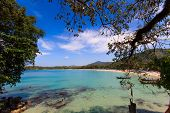 Kata beach Exotic Bay in Phuket island Thailand
