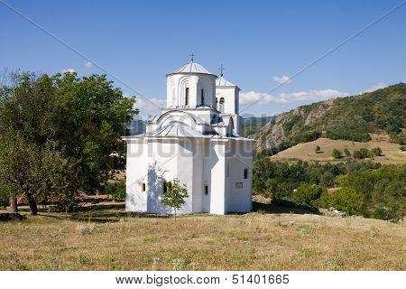 The Church In The Orthodox Monastery Nova Pavlica In Serbia