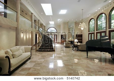 Marble Living Room