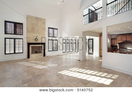 Great Room In New Construction Home