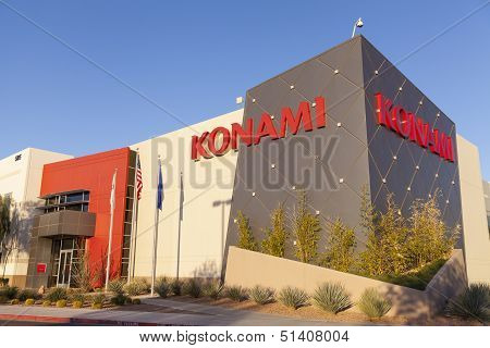 Konami Gaming In Las Vegas, Nv On April 19, 2013