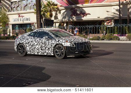 Cadillac Elr Heat Testing On The Strip In Las Vegas, Nv On June 26, 2013