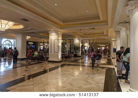 Monte Carlo Registration Area In Las Vegas, Nv On August 06, 2013