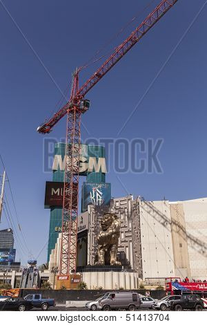 The Mgm Sign, In Las Vegas, Nv On March 05, 2013