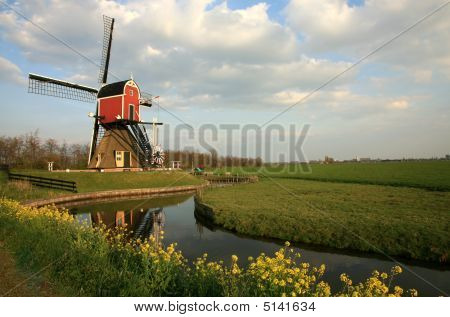 Dutch Windmill Netherlands