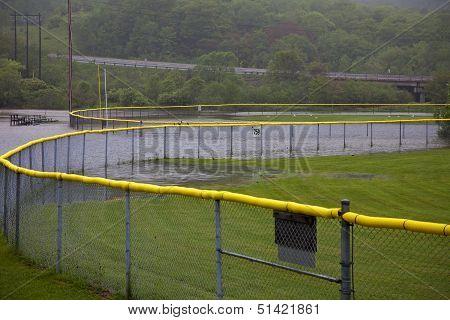 Baseball Fields Flooded