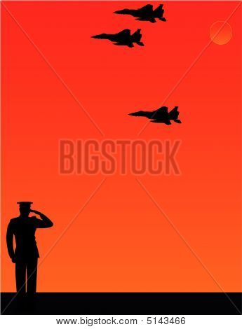 I Salute Thee .. The Missing Man Formation..