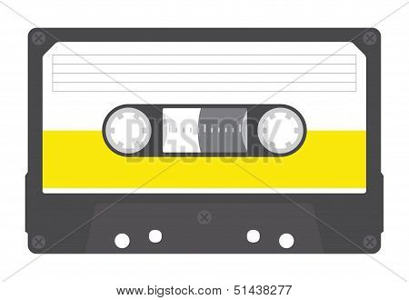Blank Compact Cassette