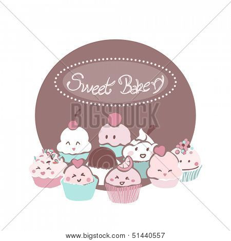 sweet bakery card