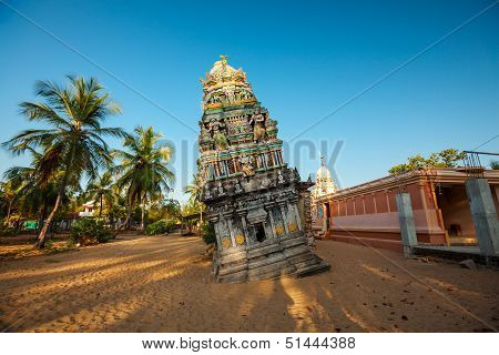 Hindu Temple In Sri Lanka After Tsunami