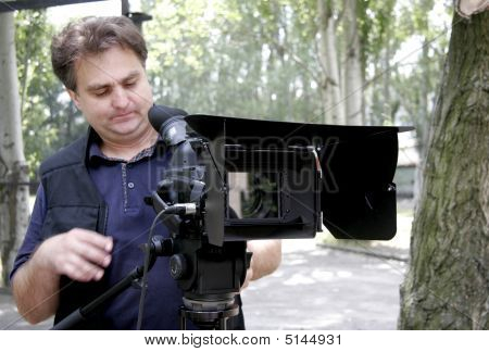 Working Cameraman