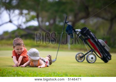 Golf With Kids