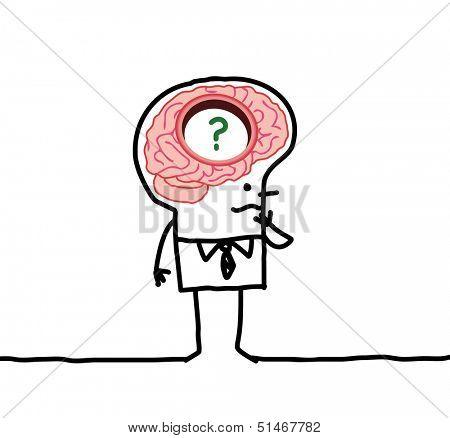 big brain man & memory disorders