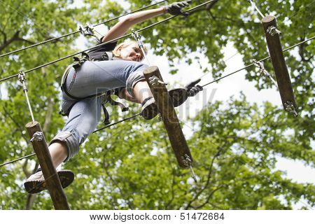 Climber High Rope Course 3
