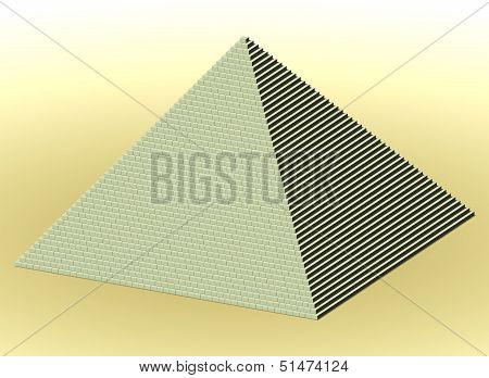 Desert Stone Pyramid